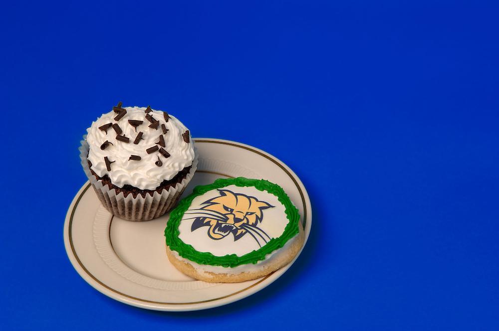 17049Attack Cat Cake & Muffin, cookie, cheesecake for Peden Stadium