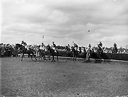Experience Horseracing at its best at the Punchestown Racing Festival with the help of the Irish Photo Archive which provides the best moments in Irish Horse Racing as black and white prints now for Sale.