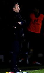 Birmingham City manager Gary Rowett cuts a frustrated figure during the 2-0 defeat to Burton Albion - Mandatory by-line: Robbie Stephenson/JMP - 21/10/2016 - FOOTBALL - Pirelli Stadium - Burton upon Trent, England - Burton Albion v Birmingham City - Sky Bet Championship
