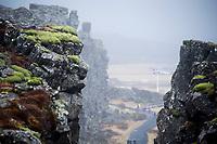Pingvellir Tectonic plates in Iceland. ©2019 Karen Bobotas Photographer