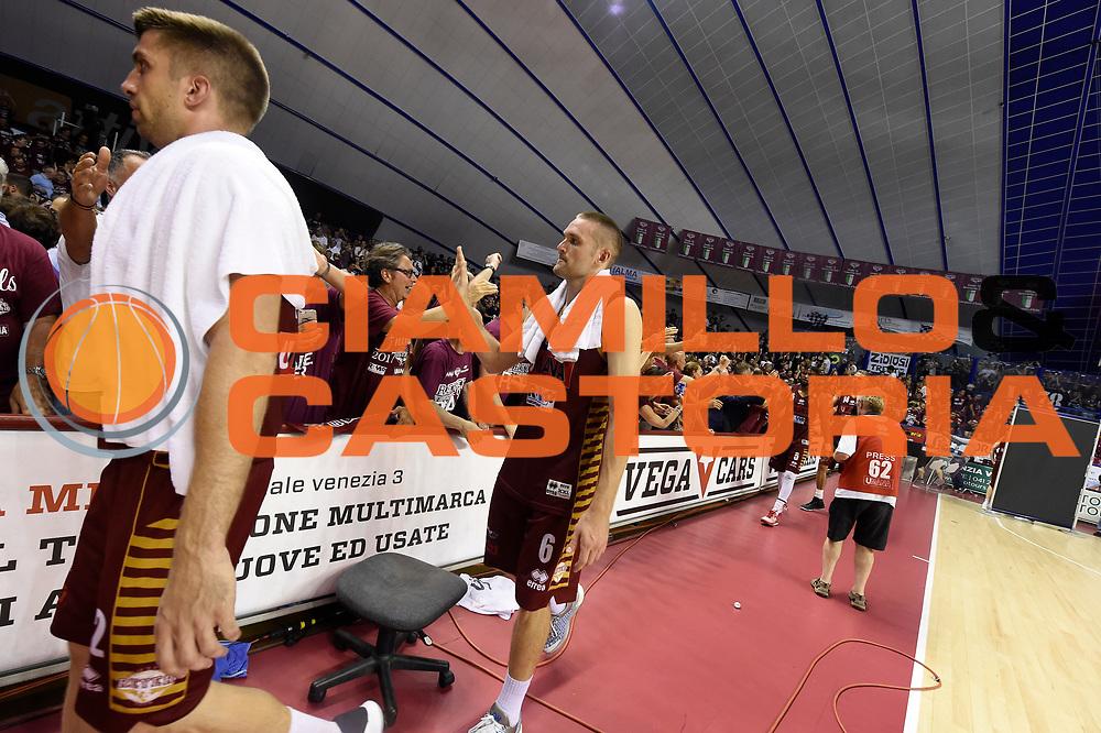 Michael Bramos<br /> Umana Reyer Venezia - Dolomiti Energia Aquila Basket Trento<br /> Lega Basket Serie A 2016/2017<br /> Playoff, finale gara 2<br /> Venezia, 12/06/2017<br /> Foto M.Ceretti / Ciamillo-Castoria