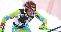 SKI ALPIN: Weltcup, Slalom, Herren, Zagreb, 06.01.2010<br /> Mitja VALENCIC (SLO)<br /> Photo by Pixathlon / Sportida Photo Agency
