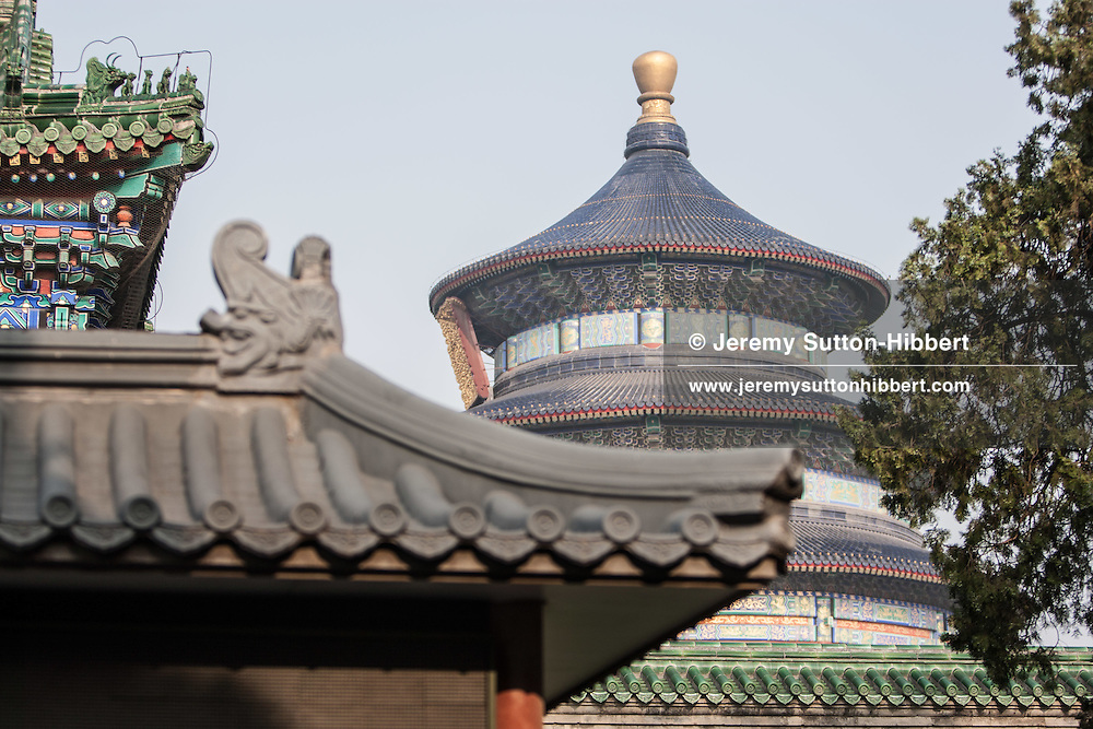 At the Temple of Heaven, in Beijing, China, Thursday 31st May 2012.