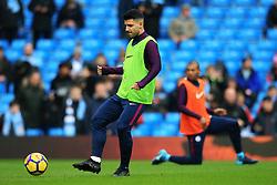 Sergio Aguero of Manchester City warms up - Mandatory by-line: Matt McNulty/JMP - 23/12/2017 - FOOTBALL - Etihad Stadium - Manchester, England - Manchester City v Bournemouth - Premier League