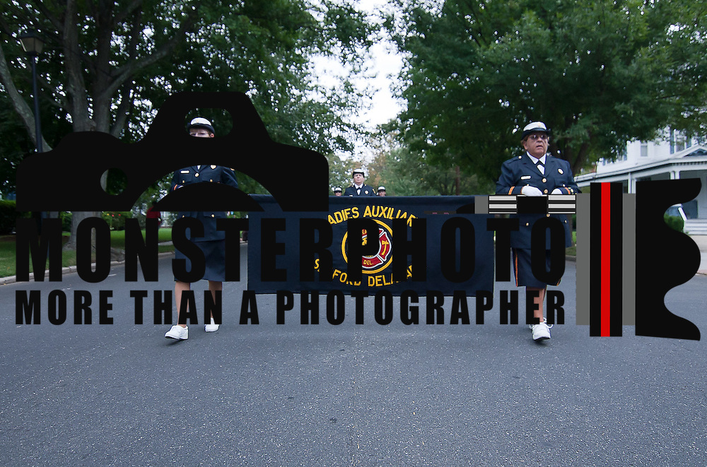 09/17/11 Dover DE: Ladies Auxiliary seaford delaware Volunteer Fire company participating in the 87th Annual DVFA Parade Saturday, Sept. 17, 2011 in Dover Delaware...The News Journal/SAQUAN STIMPSON