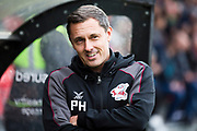 Scunthorpe United manager Paul Hurst                                         during the EFL Sky Bet League 2 match between Salford City and Scunthorpe United at the Peninsula Stadium, Salford, United Kingdom on 26 October 2019.