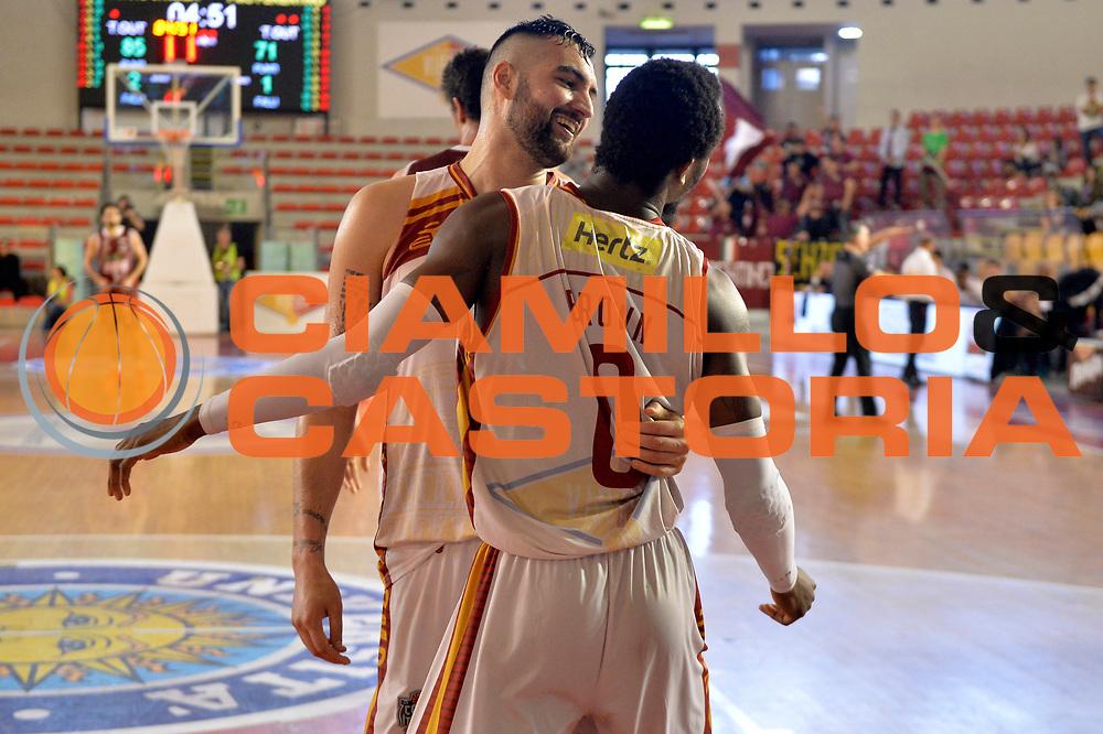 Aristide Landi, John Brown<br /> Unicusano Virtus Roma - FMC Ferentino<br /> Campionato Basket LNP 2016/2017<br /> Roma 15/04/2017<br /> Foto M.Ceretti / Ciamillo-Castoria