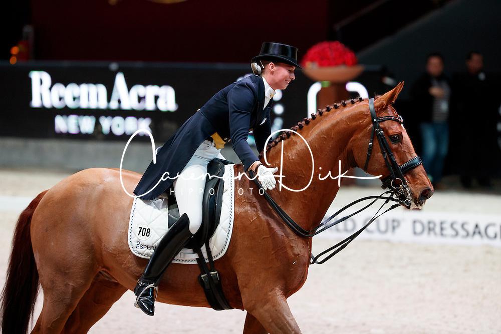 Lutkemeier Fabienne, (GER), D Agostino 5<br /> MEVISTO Amadeus Horse Indoor Salzburg<br /> &copy; Hippo Foto - Stefan Lafrentz<br /> 11-12-2016
