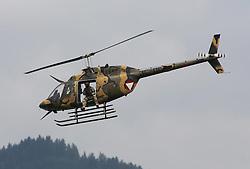 28.06.2013, Fliegerhorst Hinterstoisser, Zeltweg, AUT, AIRPOWER 2013, im Bild, OH-58 Kiowa (AUT) // during the Airpower 13 Air show on the Air Base Hinterstoisser, Zeltweg, Austria on 2013/06/28. EXPA Pictures © 2013, PhotoCredit: EXPA/ Eibner/ Matthias Neurohr<br /> <br /> ***** ATTENTION - OUT OF GER *****