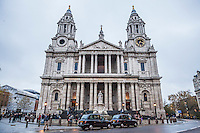 St Paul's Cathedral, London, UK.