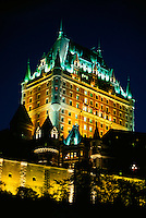 Hotel Fairmont Le Chateau Frontenac , Old Quebec City, Quebec, Canada