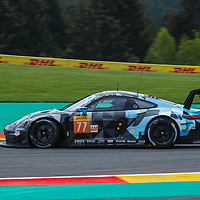 #77, Dempsey-Proton Racing, Porsche 911 RSR, LMGTE Am, driven by: Christian Ried, Julien Andlauer, Matt Campbell at FIA WEC Spa 6h 2019 on 04.06.2019 at Circuit de Spa-Francorchamps, Belgium
