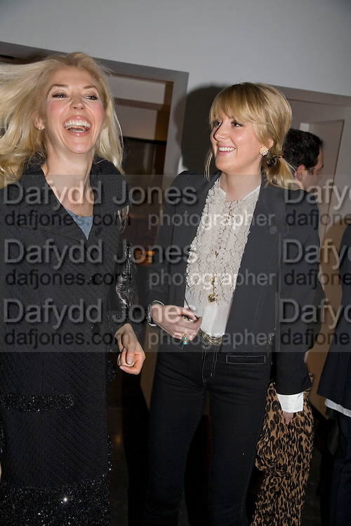 TAMARA BECKWITH AND LADY EMILY COMPTON . Kevin Lynch: Octagon - private view Hamiltons Gallery, 13 Carlos Place, London, W1, 17 January 2008. -DO NOT ARCHIVE-© Copyright Photograph by Dafydd Jones. 248 Clapham Rd. London SW9 0PZ. Tel 0207 820 0771. www.dafjones.com.