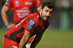 RC Toulon's Eric Escande during the European Rugby Champions Cup, Pool Five match at the Recreation Ground, Bath