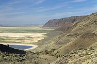 Warner Lakes Wetlands from Hart Mountain, Hart Mountain National Antelope Refuge Oregon
