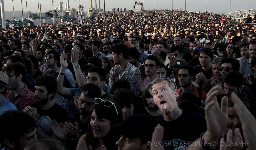 Primavera Sound 2011.Barcelona .Fleet Foxes audience