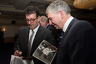 09/02/2017 - Cammy Fraser signs autigraphs at Dundee FC Hall of fame dinner at the Invercarse Hotel, Dundee  Picture by David Young -