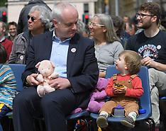 20mph Safer Streets Bill rally at Scottish Parliament, Edinburgh, 11 June 2019