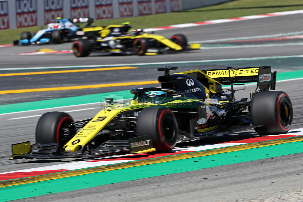 May 10, 2019 - Barcelona, Spain - Renault of Daniel Ricciardo during the practices of the GP Spain Formula 1, on 10th May 2019, Barcelona, Spain. (Credit Image: © Joan Valls/NurPhoto via ZUMA Press)