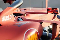 February 18, 2019 - Montmelo, BARCELONA, Spain - Sebastian Vettel (Scuderia Ferrari Mission Winnow) during the winter test days at the Circuit de Catalunya in Montmelo (Catalonia), February 18, 2019. (Credit Image: © AFP7 via ZUMA Wire)