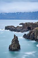 Kögurvík in Dýrafjörður, West fiords of Iceland.