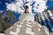 Stupa in Leh.