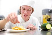 Tri-C Hospitality Management (Culinary Arts) students at the downtown Hospitality Management Center on Friday, Jan. 27, 2012.