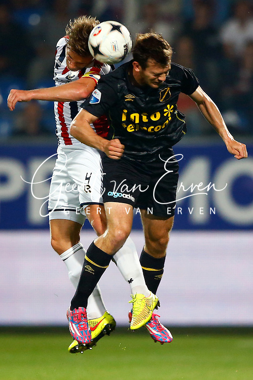 Onderwerp/Subject: Willem II - NAC Breda - Eredivisie<br /> Reklame:  <br /> Club/Team/Country: <br /> Seizoen/Season: 2014/2015<br /> FOTO/PHOTO: Jordens PETERS (L) of Willem II in duel with Erik FALKENBURG (R) of NAC Breda. (Photo by PICS UNITED)<br /> <br /> Trefwoorden/Keywords: <br /> #04 $94 &plusmn;1401920268162<br /> Photo- &amp; Copyrights &copy; PICS UNITED <br /> P.O. Box 7164 - 5605 BE  EINDHOVEN (THE NETHERLANDS) <br /> Phone +31 (0)40 296 28 00 <br /> Fax +31 (0) 40 248 47 43 <br /> http://www.pics-united.com <br /> e-mail : sales@pics-united.com (If you would like to raise any issues regarding any aspects of products / service of PICS UNITED) or <br /> e-mail : sales@pics-united.com   <br /> <br /> ATTENTIE: <br /> Publicatie ook bij aanbieding door derden is slechts toegestaan na verkregen toestemming van Pics United. <br /> VOLLEDIGE NAAMSVERMELDING IS VERPLICHT! (&copy; PICS UNITED/Naam Fotograaf, zie veld 4 van de bestandsinfo 'credits') <br /> ATTENTION:  <br /> &copy; Pics United. Reproduction/publication of this photo by any parties is only permitted after authorisation is sought and obtained from  PICS UNITED- THE NETHERLANDS