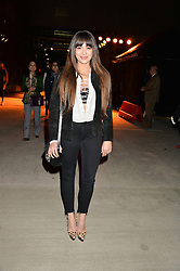 ZARA MARTIN at the Battersea Power Station Annual Party at Battersea Power Station, 188 Kirtling Street, London SW8 on 30th April 2014.