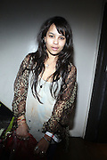 Zoe Kravitz at The ROOTS Present the Jam produced by Jill Newman Productions held at Highline Ballroom on April 29, 2009 in New York City
