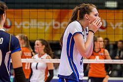 06-04-2017 NED:  CEV U18 Europees Kampioenschap vrouwen dag 5, Arnhem<br /> Nederland verliest met 3-1 van Italie en speelt voor de plaatsen 5-8 / Marina Lubian #5
