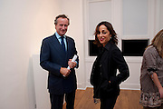 XAVIER VILLIERS; MARINA WALLACE, Relics of the Mind.- Private view of work by Katharine Dowson. GV Art, 49 Chiltern st. London. W1. 16 September 2010. -DO NOT ARCHIVE-© Copyright Photograph by Dafydd Jones. 248 Clapham Rd. London SW9 0PZ. Tel 0207 820 0771. www.dafjones.com.