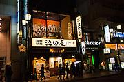 Japan, Honshu, Kyoto, at night