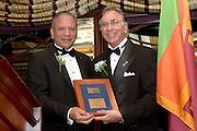 Rotary Service Awards, with RI President K.R. Ravindran, 11/10/15.