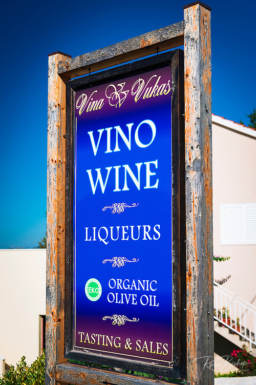 Winery on Pelješac Peninsula, Dalmatian Coast, Croatia