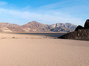 Racetrack And Cottonwood Mountains At Sunset, Death Valley National Park