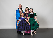 Dance Connection Palo Alto students pose for their portraits during Nutcracker Photo Day 2018 at Dance Connection Palo Alto in Palo Alto, California, on October 29, 2018. (Stan Olszewski/SOSKIphoto)