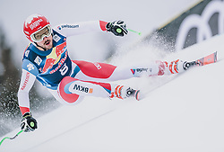 25.01.2020, Streif, Kitzbühel, AUT, FIS Weltcup Ski Alpin, Abfahrt, Herren, im Bild Carlo Janka (SUI) // Carlo Janka of Switzerland in action during his run in the men's downhill of FIS Ski Alpine World Cup at the Streif in Kitzbühel, Austria on 2020/01/25. EXPA Pictures © 2020, PhotoCredit: EXPA/ JFK