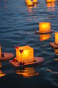 Lantern Floating Festival, Memorial Day, Ala Moana Park, Honolulu, Oahu, Hawaii