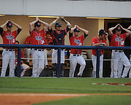Mississippi vs. Auburn during a college baseball game in Oxford, Miss. on Thursday, May 20, 2010.  (AP Photo/Oxford Eagle, Bruce Newman)
