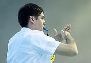 Gomez - Referee<br /> SRB - CRO Serbia (white cap) Vs. Croatia (Blue cap)<br /> LEN Europa Cup Men 2018 finals<br /> Water Polo, Pallanuoto<br /> Rijeka, CRO Croatia<br /> Day03<br /> Photo &copy; Giorgio Scala/Deepbluemedia/Insidefoto
