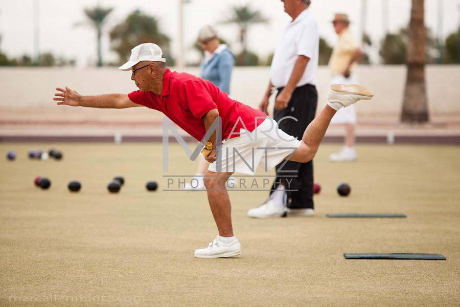 2012 Sun City West Bob Lane Mixed Triples Lawn Bowling Tournament