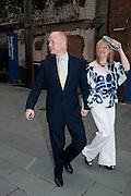 WILLIAM HAGUE; FFION HAGUE, Summer party hosted by Rupert Murdoch. Oxo Tower, London. 17 June 2009