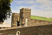 New Zealand, North Island, Auckland. Mount Eden Prison located in Lauder Road in the Central Auckland suburb of Mt Eden