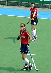 07-05-2006 HOCKEY: KAMPONG - LAREN: UTRECHT<br /> De vrouwen van hockeyvereniging Kampong hebben vanmiddag met 3 - 5 verloren van Laren / Soledad Garcia<br /> ©2006-WWW.FOTOHOOGENDOORN.NL