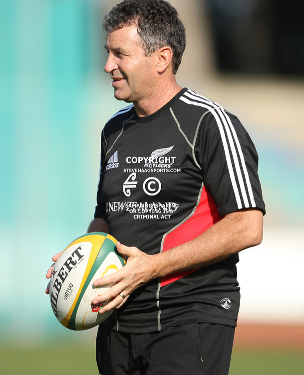 PORT ELIZABETH, SOUTH AFRICA - AUGUST 18, Wayne Smith Assistant coach during the New Zealand national rugby team training session at Xerox Arena on August 18, 2011 in Port Elizabeth, South Africa<br /> Photo by Steve Haag / Gallo Images