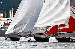 June 2011 Istanbul Turkey, Extreme Sailing Series, Racing on the Bosphorus