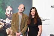 Premiere van Gurre-Lieder in de Nationale Opera & Ballet / Premiere of Gurre-Lieder in the National Opera & Ballet.<br /> <br /> Op de foto / On the photo:   Rineke Dijkstra (R)