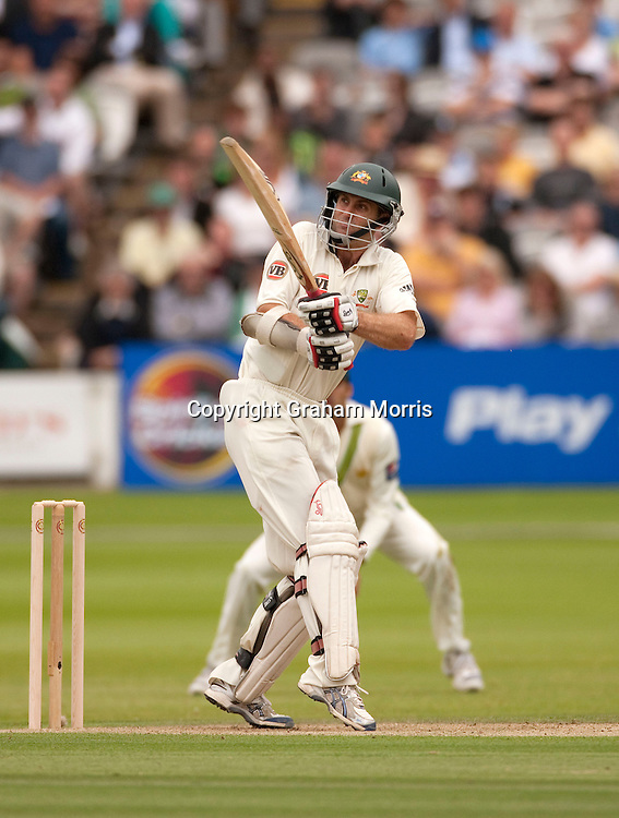 Simon Katich bats during the MCC Spirit of Cricket Test Match between Pakistan and Australia at Lord's.  Photo: Graham Morris (Tel: +44(0)20 8969 4192 Email: sales@cricketpix.com) 13/07/10
