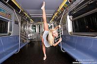 Mykaila Symes New York City Subway Ballerina Dance As Art New York